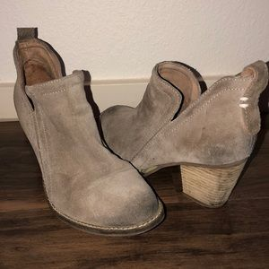 Jeffrey Campbell Rosalee Ankle Boots 8